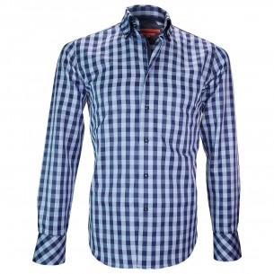 Chemise double colCARDIFF Andrew Mac Allister XP7AM3