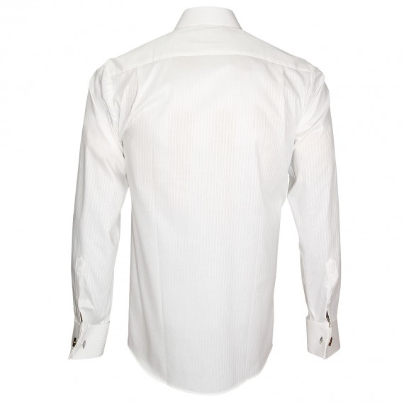 Chemise en popeline armurée WEDDING Andrew Mc Allister A12AM2