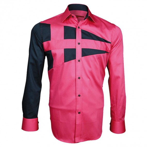 Chemise bicolore NAUTICA Andrew Mc Allister A3AM5