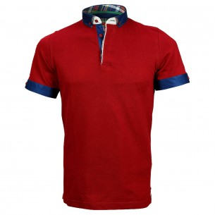 Polo col boutonné SCOTT Andrew Mc Allister A-PLAIN1