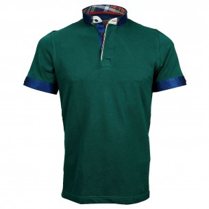 Polo col boutonné SCOTT Andrew Mc Allister A-PLAIN3