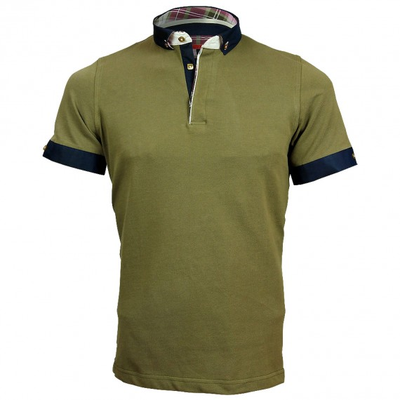 Polo col boutonné SCOTT Andrew Mc Allister A-PLAIN6