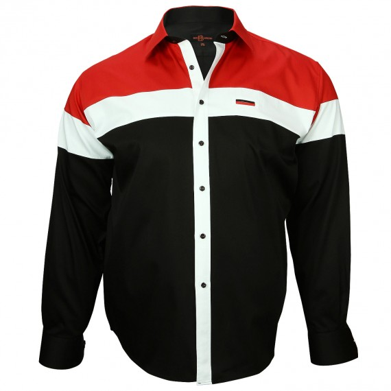 Chemise Mode YATCH CLUB Doublissimo GT-A2DB2