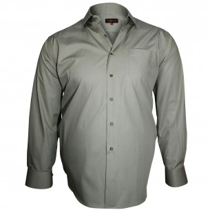 Chemise col italien TRENDY Doublissimo GT-E11DB3