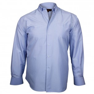 Chemise sport CHECKED Doublissimo GT-E9DB1