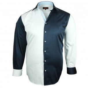 Chemise bicolore TREND Doublissimo GT-H4DB1