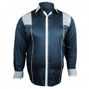 Chemise Grande taille BAROCCO Doublissimo GT-H5DB2