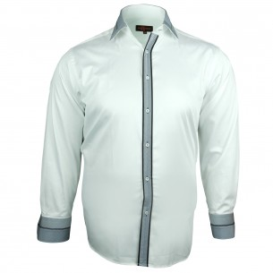 Chemise Grande taille BORSALINO Doublissimo GT-H6DB1