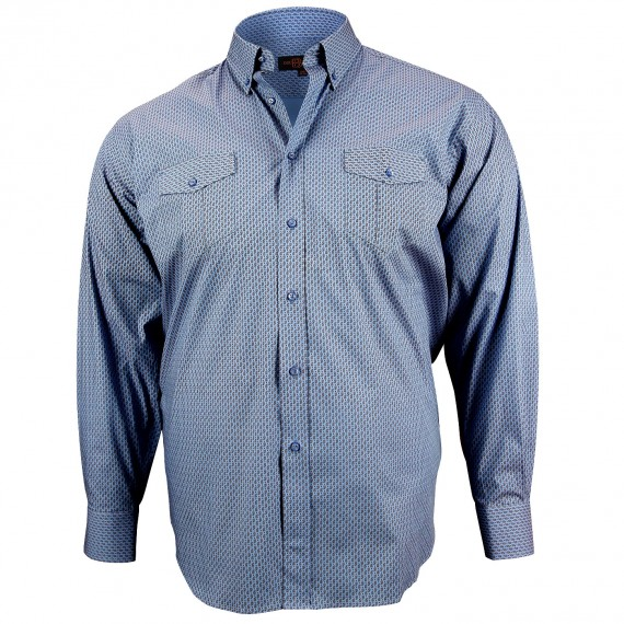 CHEMISE GRANDE TAILLE SPORT Doublissimo GT-K3DB1