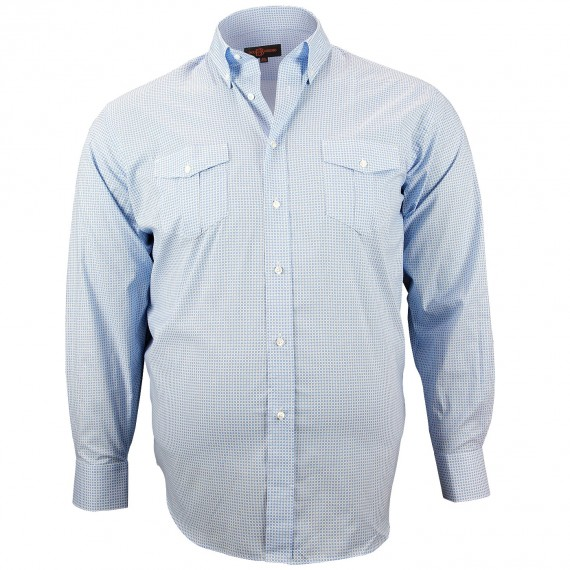 CHEMISE GRANDE TAILLE SPORT Doublissimo GT-K3DB3
