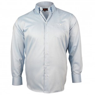 CHEMISE GRANDE TAILLE OXFORD Doublissimo GT-K5DB1