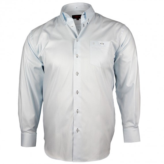 CHEMISE GRANDE TAILLE OXFORD Doublissimo GT-K5DB4