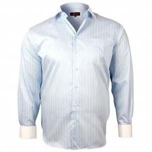 CHEMISE GRANDE TAILLE DANDY Doublissimo GT-K6DB1