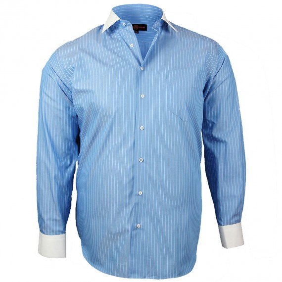 CHEMISE GRANDE TAILLE DANDY Doublissimo GT-K6DB2