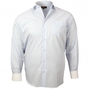 CHEMISE GRANDE TAILLE DANDY Doublissimo GT-K6DB3