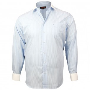 CHEMISE GRANDE TAILLE DANDY Doublissimo GT-K6DB5