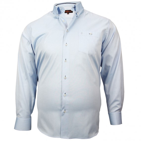 CHEMISE GRANDE TAILLE OXFORD Doublissimo GT-M1DB2