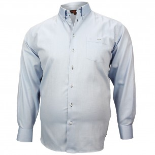 CHEMISE GRANDE TAILLE OXFORD Doublissimo GT-M1DB4