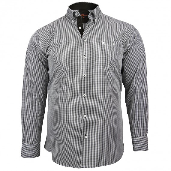 CHEMISE GRANDE TAILLE SPORT Doublissimo GT-M3DB1
