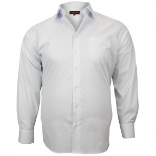 CHEMISE GRANDE TAILLE CLASSIQUE Doublissimo GT-M4DB10