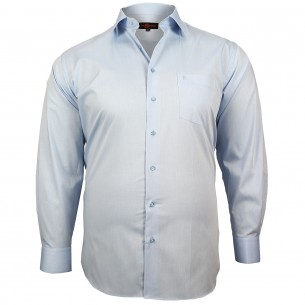 CHEMISE GRANDE TAILLE CLASSIQUE Doublissimo GT-M4DB4
