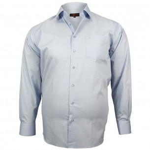 CHEMISE GRANDE TAILLE CLASSIQUE Doublissimo GT-M4DB5
