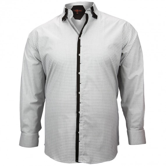 CHEMISE DOUBLE COL TREND Doublissimo GT-M6DB3