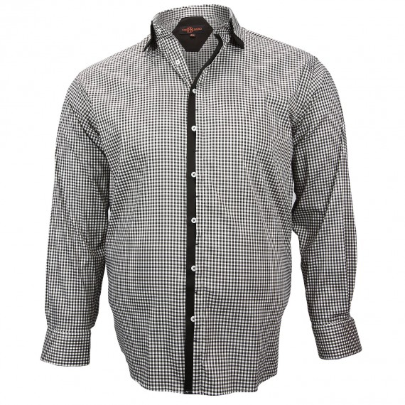 CHEMISE DOUBLE COL TREND Doublissimo GT-M6DB7