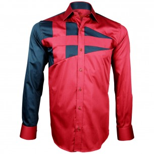 Chemise bicolore NAUTICA Andrew Mc Allister H13AM3