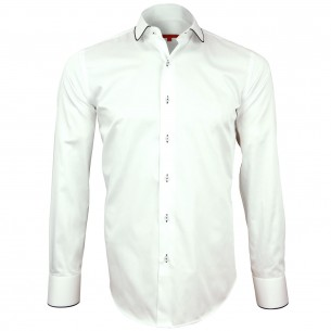 Chemise col rond ROUND Andrew Mc Allister H21AM1