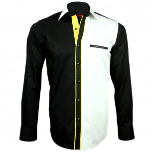 Chemise bicolore TWINY Andrew Mc Allister H23AM2