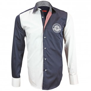 Chemise Bicolore COMPAS Andrew Mc Allister M3AM1