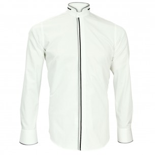 Chemise col mao BRIXTON Andrew Mc Allister N15AM1