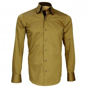 Chemise double col DUNDEE Andrew Mc Allister N19AM2