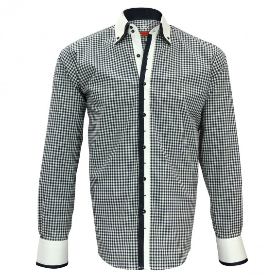 Chemise double col VENICE Andrew Mc Allister N6AM1