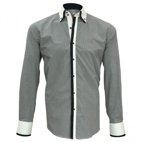Chemise double col VENICE Andrew Mc Allister N6AM2