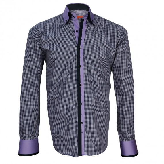 Chemise double col VENICE Andrew Mc Allister N6AM3