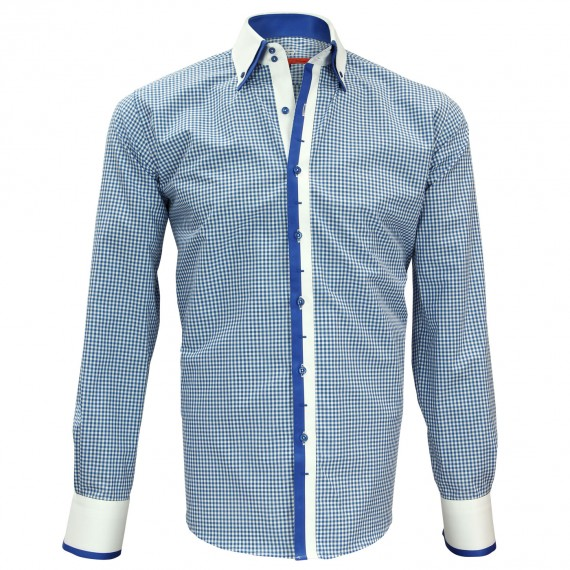 Chemise double col VENICE Andrew Mc Allister N6AM4