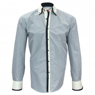 Chemise double col VENICE Andrew Mc Allister N6AM5