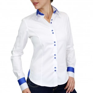 Chemise blanche SHELBY Andrew Mc Allister NF13AM2