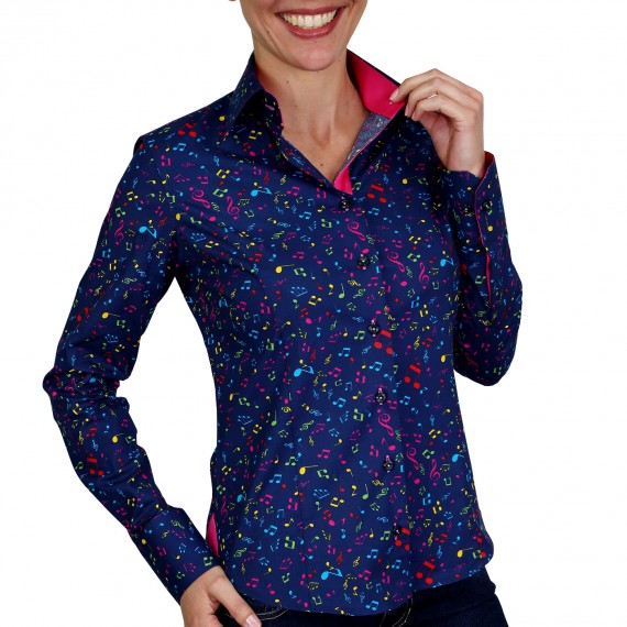 Chemise stretch JAZZY Andrew Mc Allister NF6AM1