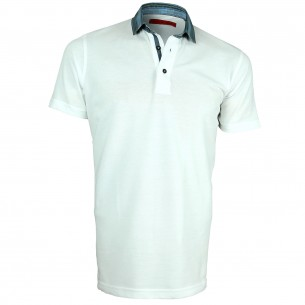 Polo col chemise CONTRAST Andrew Mc Allister Y4042-01