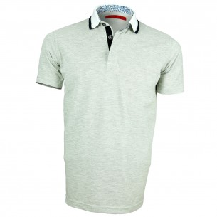 Polo coton chiné LIBERTY Andrew Mc Allister Y4062-60