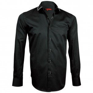 Chemise col rond ROUND Andrew Mc Allister H21AM2