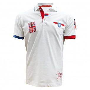 POLO MANCHE COURTE BRITISH Andrew Mc Allister SWG-01