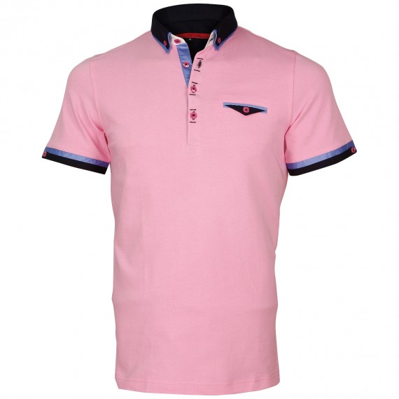 Polo double col EDWIN Andrew Mc Allister E-DBCOL10