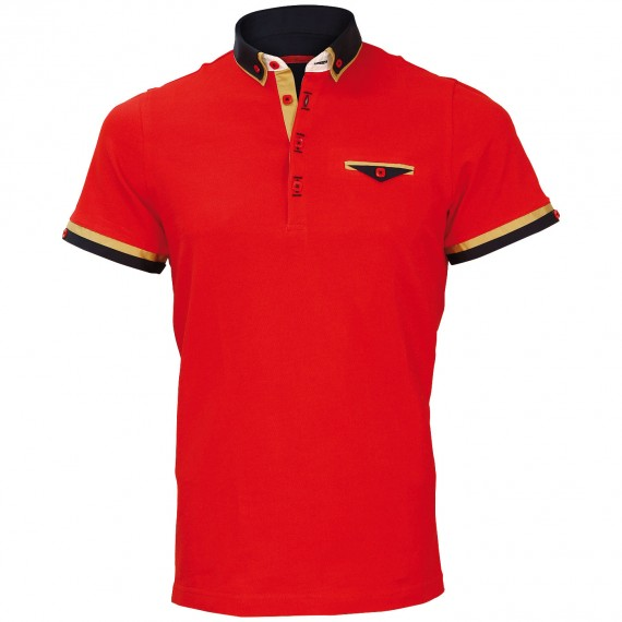 Polo double col EDWIN Andrew Mc Allister E-DBCOL1