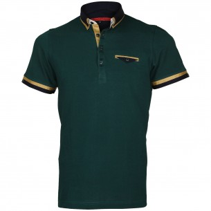 Polo double col EDWIN Andrew Mc Allister E-DBCOL2
