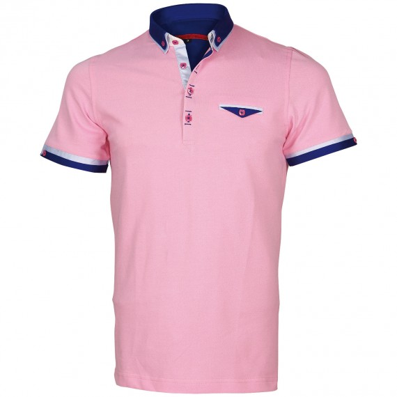 Polo double col EDWIN Andrew Mc Allister E-DBCOL5