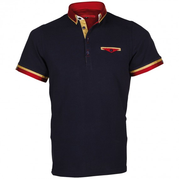 Polo double col EDWIN Andrew Mc Allister E-DBCOL7